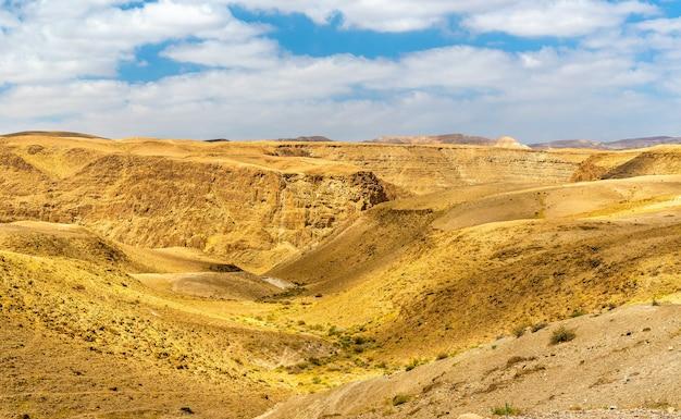 사해 근처의 유대 사막-이스라엘