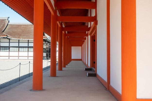 Императорский дворец в киото, япония
