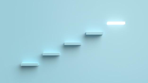 3dレンダリングを輝かせる成功のはしご