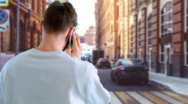 モバイルsmarphoneオンライン会話を使用して電話をかける
