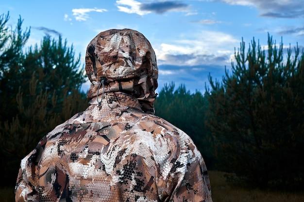 男は狩り狩り狩猟ライフルハンターはハンター男狩り期間を目指しています