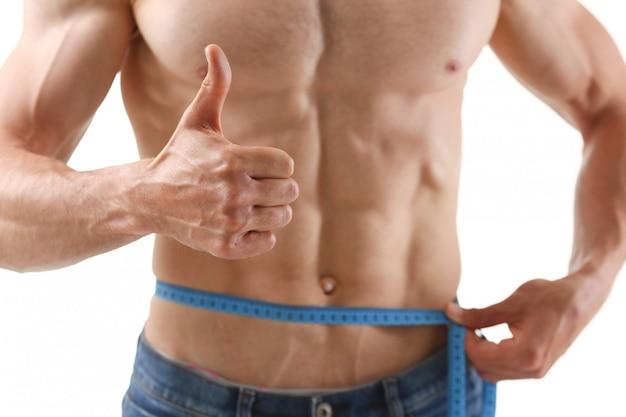Мужчина похудел благодаря диете