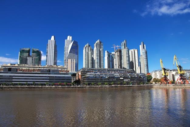 アルゼンチン、ブエノスアイレスのマリーナ