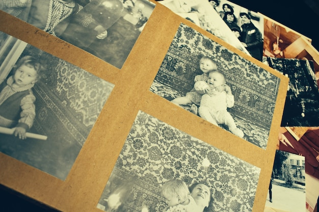 Память о далеком прошлом. семейный фотоархив.