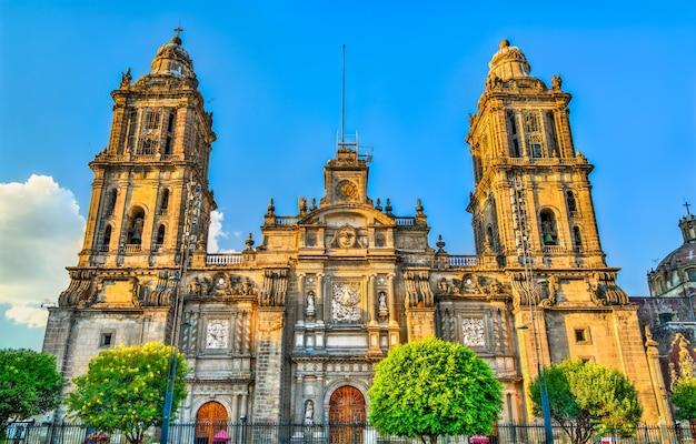 멕시코 시티에서 가장 축복받은 성모 마리아가 하늘로 승천하는 메트로폴리탄 대성당