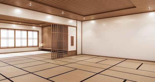 최소한의 방 일본식 디자인