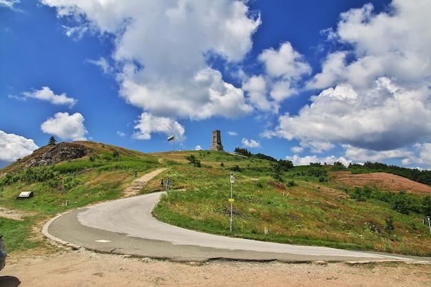 ブルガリアのシプカ峠の記念碑