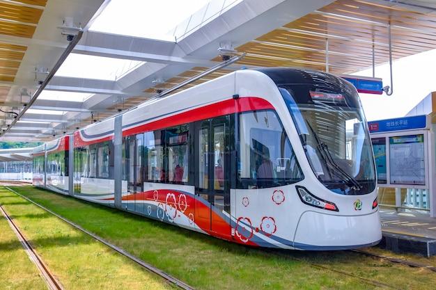 黄埔区広州経済技術開発区の新しい路面電車システム