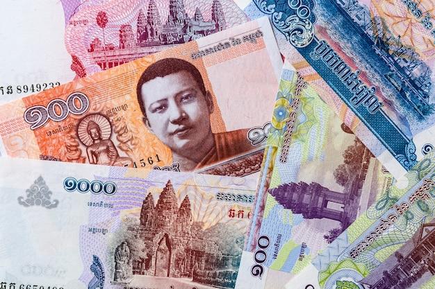 Официальная валюта камбоджи Premium Фотографии
