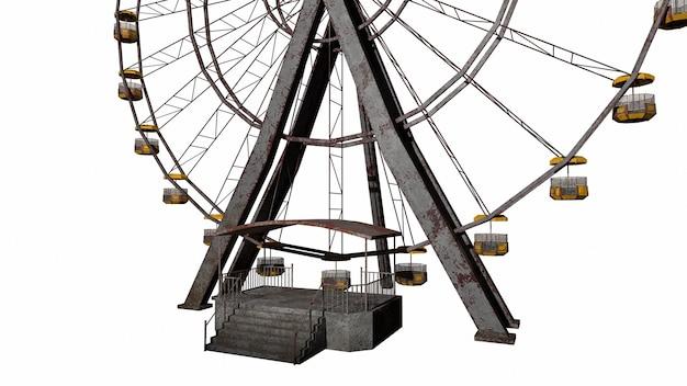 Старое колесо обозрения ужасов