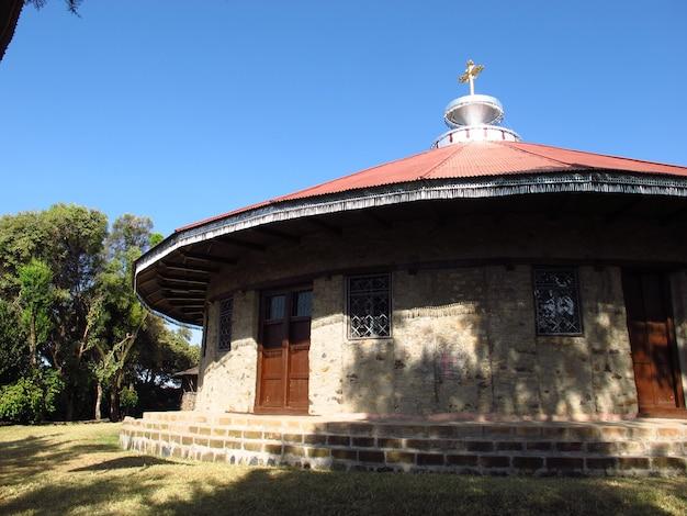 アフリカの中心、エチオピアの正教会の修道院