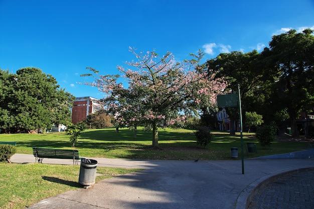 アルゼンチン、ブエノスアイレスの公園