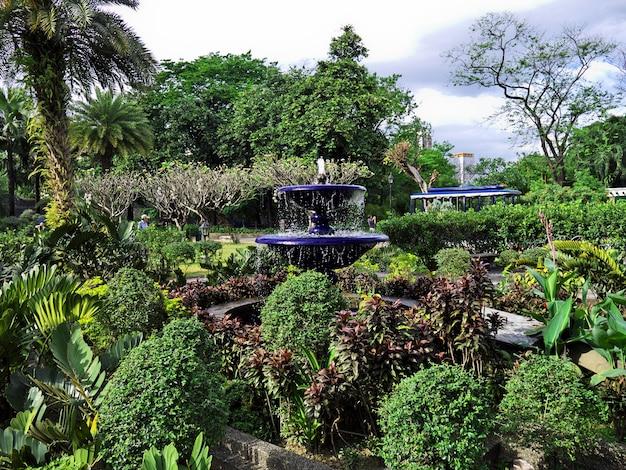 フィリピンのマニラ市の公園