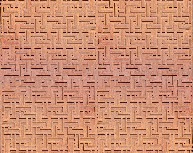 Узорчатый металлический абстрактный фон. выборочный фокус
