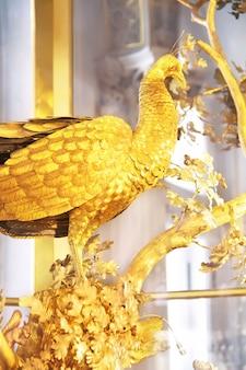공작 시계 러시아 상트페테르부르크 국립 에르미타주 박물관