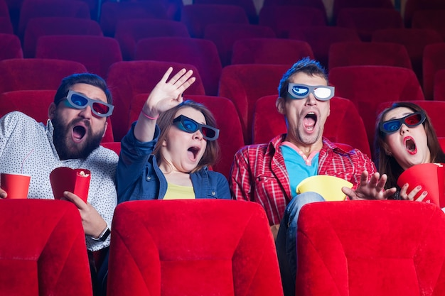 Эмоции людей в кино