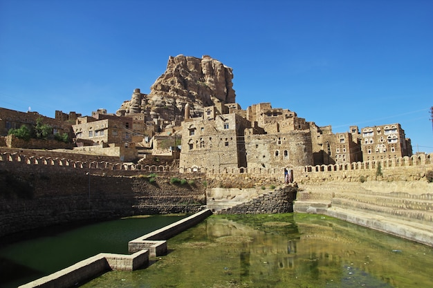 산, 예멘의 툴라 마에있는 수영장