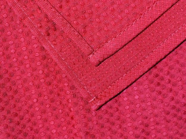 Красный safenette сложен.