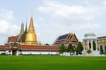 The royal temple and royal palace