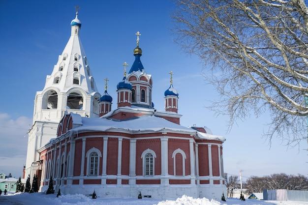 러시아 모스크바 콜롬나 지역에 있는 러시아 성모 마리아 교회