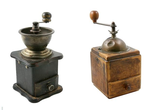 Набор из двух старых кофемолок