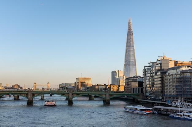 Осколок в лондоне