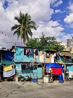 필리핀 마닐라의 빈민가