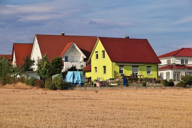 Небольшая деревня в баварии, германия