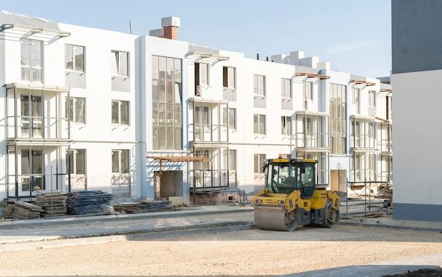 건설 현장의 일부 기계, 작업 및 건축 과정