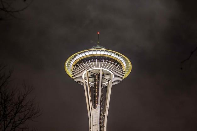 シアトルのスペースニードルタワー