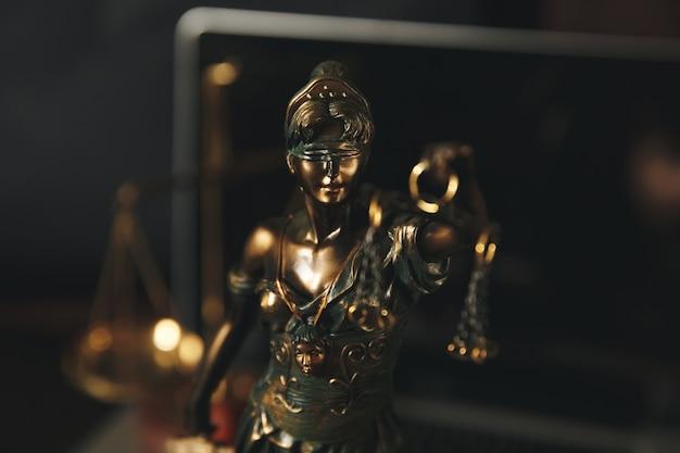 정의의 여신상 상징, 법적 법률 컨셉 이미지