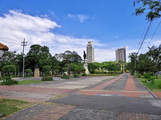 フィリピンのマニラ市の通り