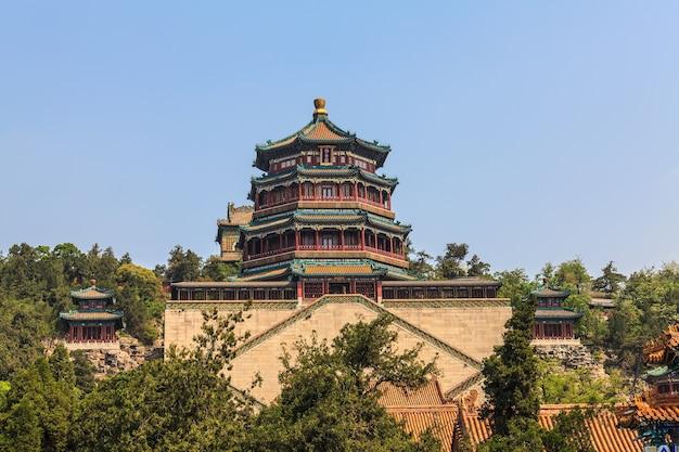 Летний дворец в пекине, китай
