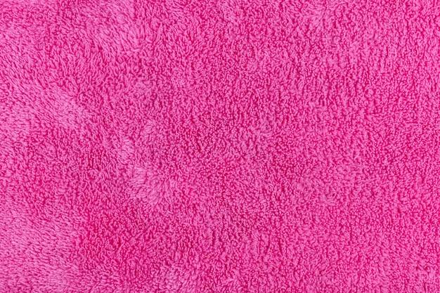 Поверхность и текстура синтетического материала кухонного полотенца из микрофибры