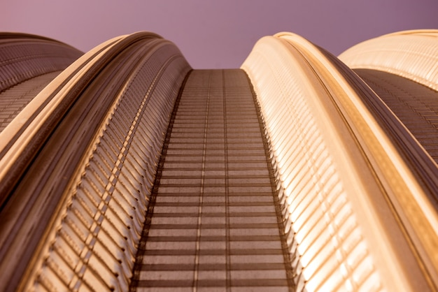 Поверхность промышленной металлической крыши абстрактный фон
