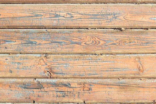 Поверхность деревянной стены окрашена в коричневый цвет. старый текстуру дерева.