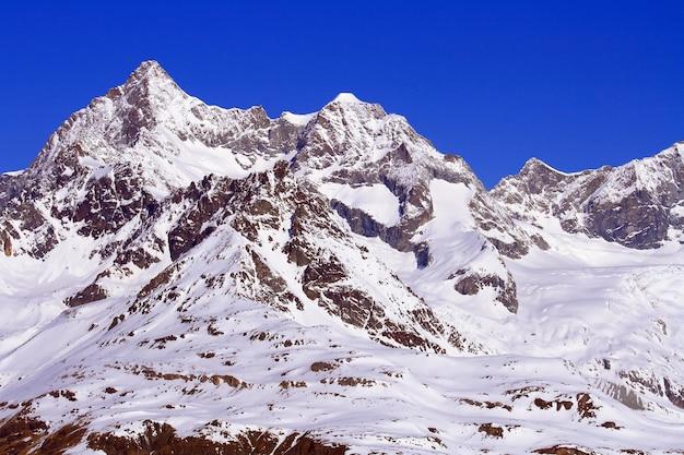 Matterhorn, gornergrat 스위스의 스위스 알프스
