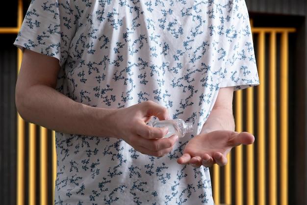 방부제 복용 및 손 관리 소독, 바이러스 보호에 사용