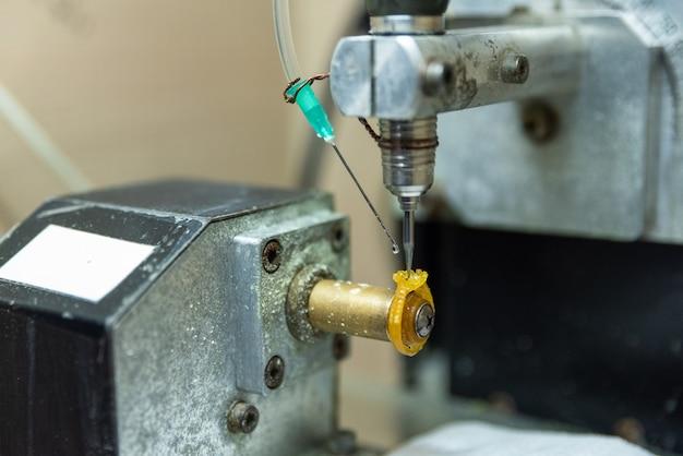 Технический процесс создания литейных колец для ювелирных изделий