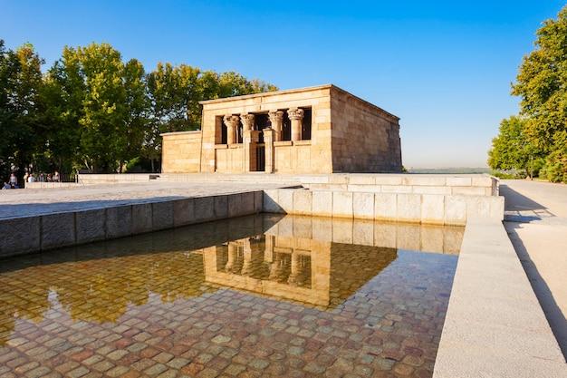 Храм дебод или темпло-де-дебод - древний египетский храм, перестроенный в мадриде, испания.