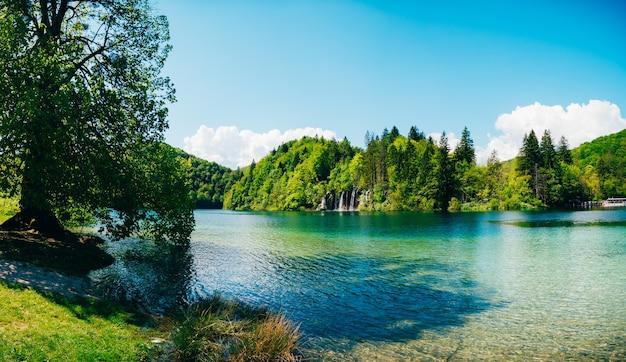 국립 공원 플리트 비체 호수의 영토