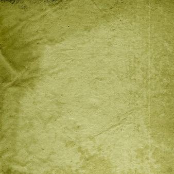 しわくちゃの紙の質感、しわ、緑の背景、