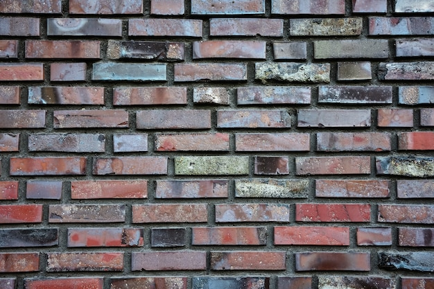 벽돌 벽, 벽돌 쌓기, 벽돌의 질감