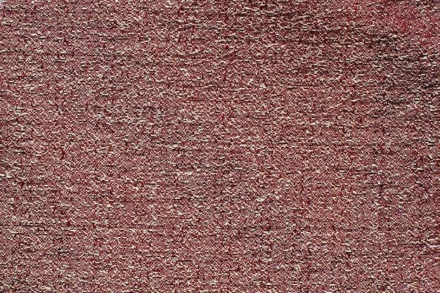 Фактура ткани. темно-красный с белыми пятнами, мятой плотной ткани. скопируйте пространство.