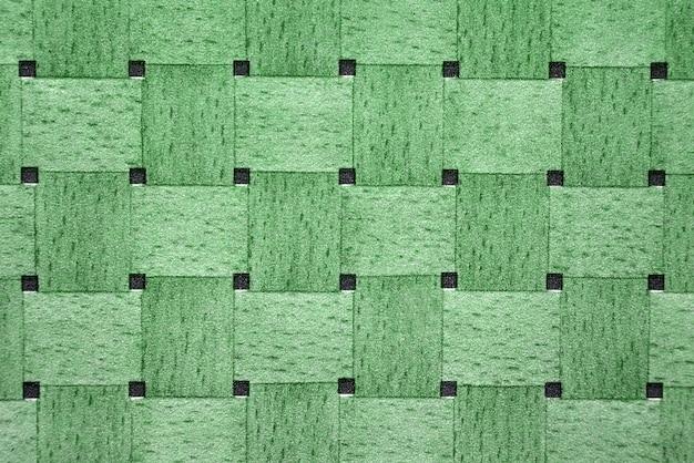 녹색 음영으로 짜여진 구조의 질감