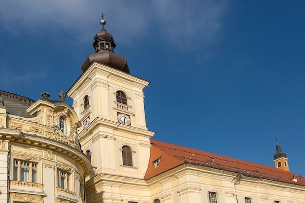 シビウの市庁舎、トランシルバニア、ルーマニア