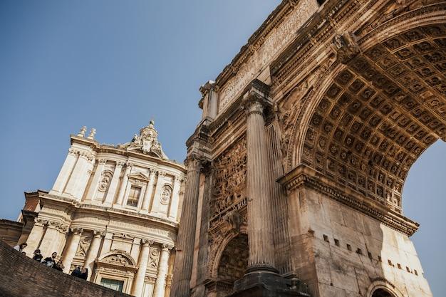 セプティミウスセウェルスの凱旋門