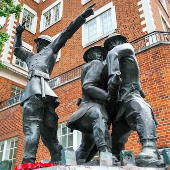Национальный мемориал пожарных великобритании в лондоне