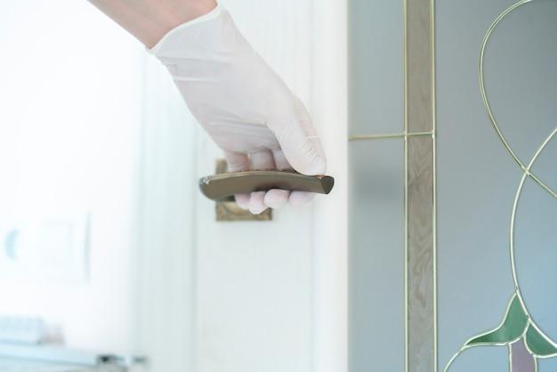 ゴム製医療用手袋の日常使用、ライフスタイルコロナウイルス保護