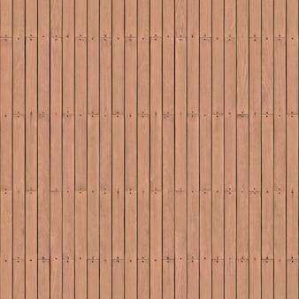 В вертикальные планки светло-коричневого цвета забиты гвоздики. фон или фактура.